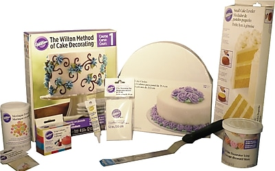 Wilton Cake Kit Course 1 : Wilton Course 1 - Deluxe Student Kit Staples