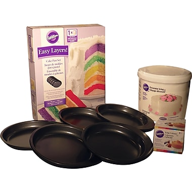Multi Layer Cake Pan Set