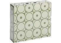 Smead MO® File Case Wrap, Letter Size, Moss Circles