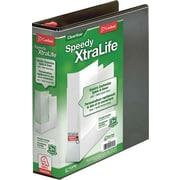 Cardinal Speedy XtraLife Slant-D Ring Binder, White, 2 Binder Capacity