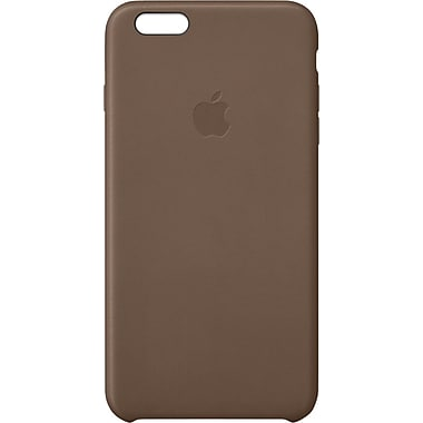 Apple® iPhone® 6 Plus Leather Case, Olive Brown