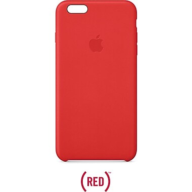 Apple® iPhone® 6 Plus Leather Case, Red