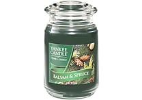 Yankee Candle® Balsam and Spruce Candle, Large Jar