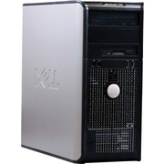 Refurbished Dell Optiplex 760, 1TB Hard Drive, 4GB Memory, Intel Core 2 Duo (2.66 Ghz), Win 7 Pro