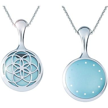 Misfit Shine Silver Bloom Necklace
