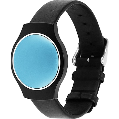 Misfit Shine Black Leather Band