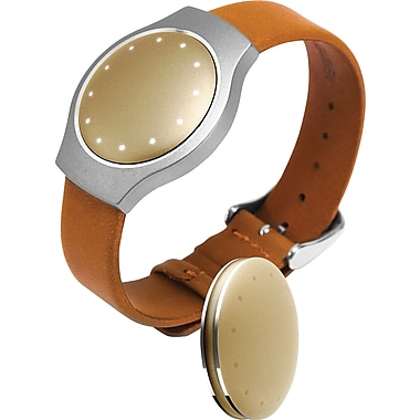 Misfit Shine Tan Leather Band