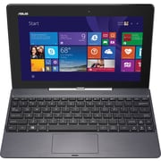 ASUS, T100TAM-C12-GR, 10.1 Detachable Laptop, 2GB Memory, 64GB Storage, Intel Atom, Touchscreen