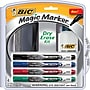 BIC® Magic Marker® Pocket Style Dry-Erase Marker Kit
