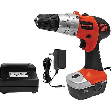 Stalwart™ 75-01120 18 V Cordless Drill With LED Light, 10 mm(Dia) Capacity