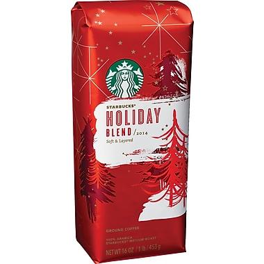 Starbucks® Holiday Blend Coffee, Regular, 1 lb. Bag