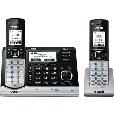 VTech DS6291-2 2 Handset Connect to Cell Answering System with Dual Caller ID