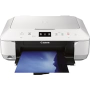 Canon PIXMA MG6620 Wireless Inkjet Photo All-In-One Printer, White