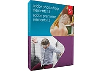 Adobe Photoshop and Premiere Elements 13 [Boxed]