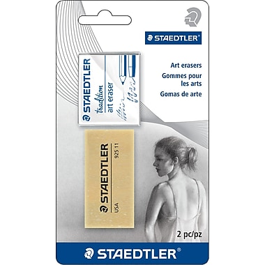 Staedtler® Kneedable & Art Gum Erasers, 2/Pack