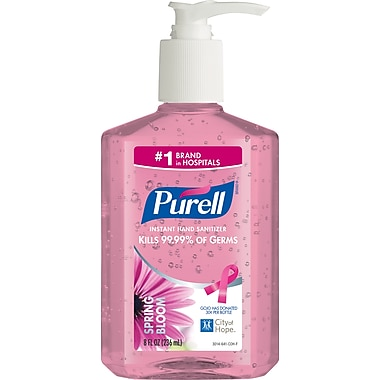 Purell® Instant Hand Sanitizer, Spring Bloom, 8 oz.