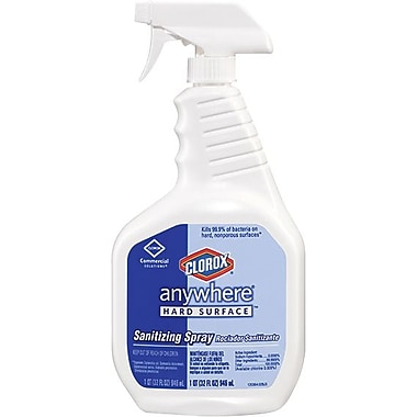 Clorox® Anywhere Hard Surface Sanitizing Spray, 32 oz.