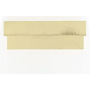 Great Papers® Gold Foil Lined #10 Envelopes, 25/Pack