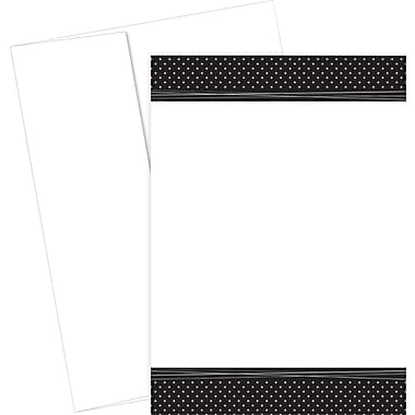 Great Papers® Delightful Dots Foil Flat Card Invitations and Envelopes, 20/Pack