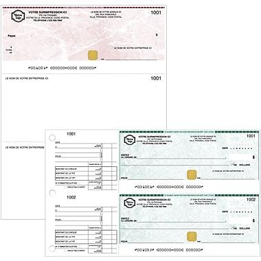 Chèques commerciaux personnalisés