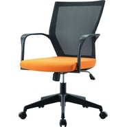 Pastel Furniture Bozano Executive Office Chair; Orange