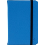 "M-Edge Universal Folio Plus Case for 7"" - 8"" Tablets, Blue with Black"