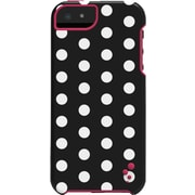 M-Edge Echo Case for iPhone 5/5s Black & White Polka Dots