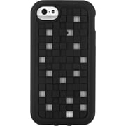 M-Edge iPhone 5/5s Maverick 3D Squares Board Black w/ Black Bumper