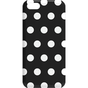 M-Edge Snap Case for iPhone 5c Black and White Polka Dot