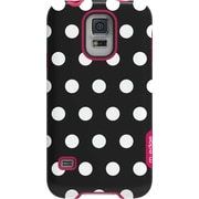 M-Edge Echo Case for GS5 Black and White Polka Dots