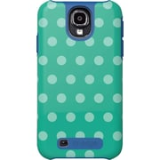 M-Edge Samsung Galaxy S4 Echo Mint Polka Dots