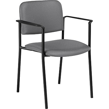 Offices To Go® Minto Stacking Armchair, Slate