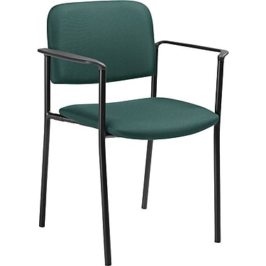 Offices To Go® Minto Stacking Armchair, Teal