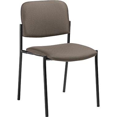 Offices To Go® Minto Stacking Chair (No Arms), Canyon