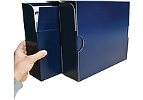 Smead MO® File Case Wrap, Letter Size, Navy