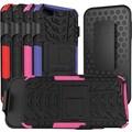 URGE Basics Armor Clip Case for iPhone 5, Black Pink