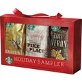 Starbucks Seasonal Coffee Sampler Gift Set, 6/Bx