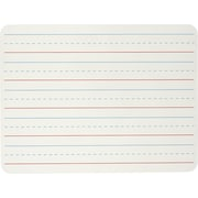 Charles Leonard™ Plain/Lined Magnetic Dual Sided Dry Erase Lapboard, White