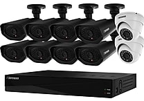 Sentinel™ Widescreen 16CH 2TB DVR and 10 Surveillance 800TVL Cameras