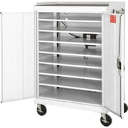 Mobile Laptop Security Cabinet, 52W
