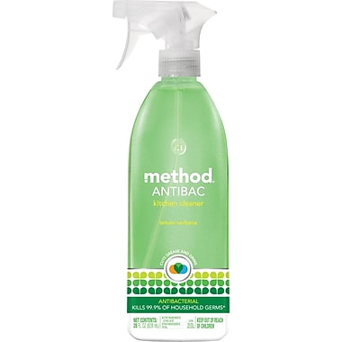 Method Antibacterial Spray, Lemon Verbena, 28 oz.