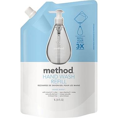 Method® Gel Handwash Refill, Sweet Water, 34 oz.