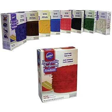 Decorator Preferred Rolled Fondant, Colours of the Rainbow