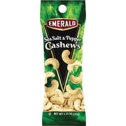 Emerald® Sea Salt & Pepper Cashews, 1.25 oz. Tube