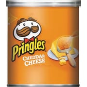 Pringles® Cheddar Cheese Potato Chips, 1.41 oz cans, 36 Cans/Box