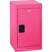 Single tier locker, recessed handle, 15x15x24, pom pom pink