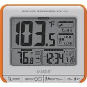 La Crosse Technology 308-179OR Wireless Temperature Station with Trends & Alerts