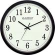 La Crosse Technology WT-3143A 14 Inch Atomic Analog Wall Clock - Black
