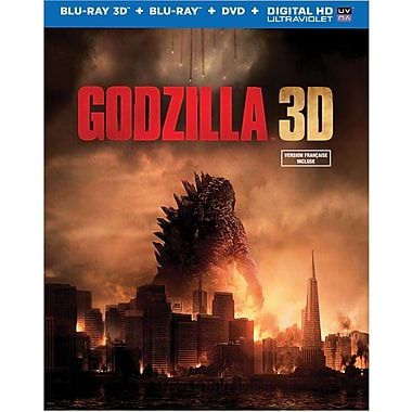 Godzilla (3D Blu-Ray/Blu-Ray/DVD)