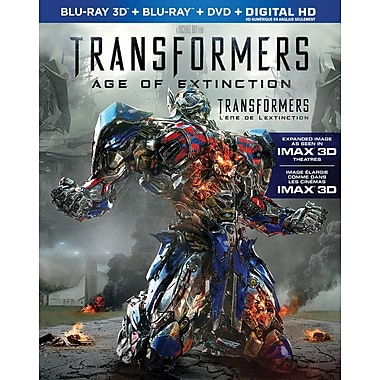 Transformers: Age of Extinction (3D Blu-Ray/Blu-Ray/DVD)